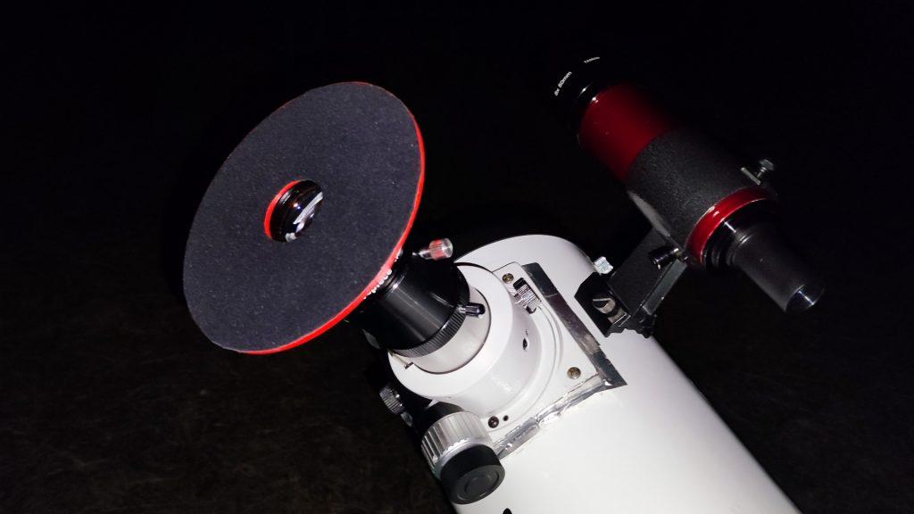 Smartphone Alingment Support am Teleskop